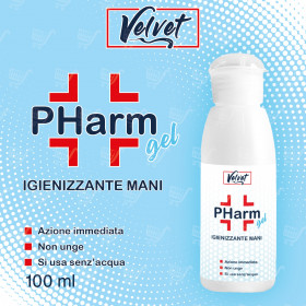 VELVET PHarm - GEL IGIENIZZANTE MANI - 100ml