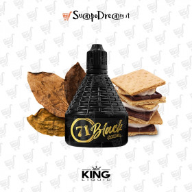 KING LIQUID - LA SMORFIA XXL N.71 BLACK Scomposto 30ml