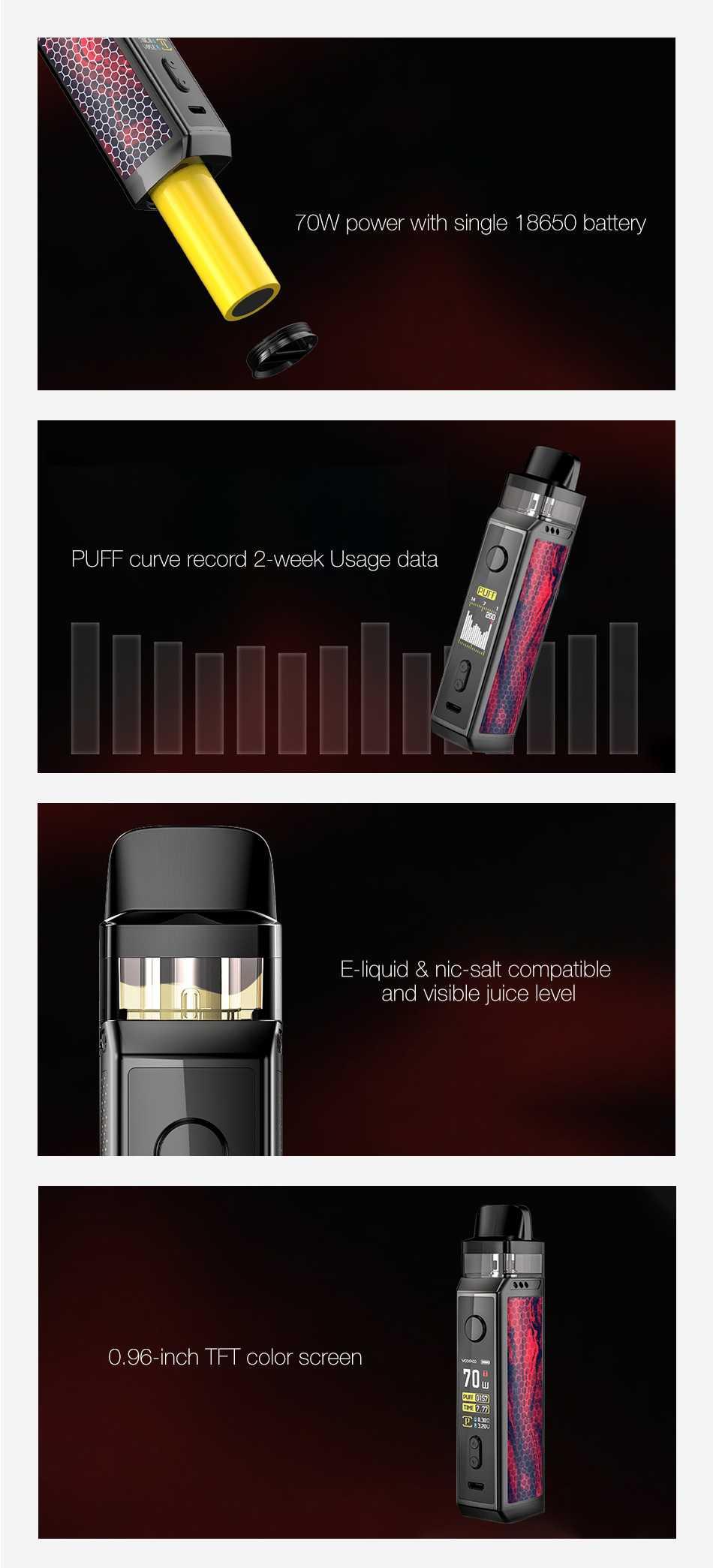 sigaretta elettronica vinci pod